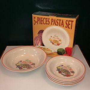 Other - 5-Piece Serving Bowls Set